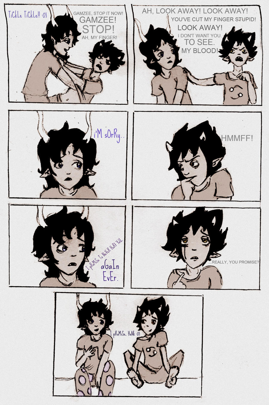 Gamzee Can't Keep Promises by RosaZaira