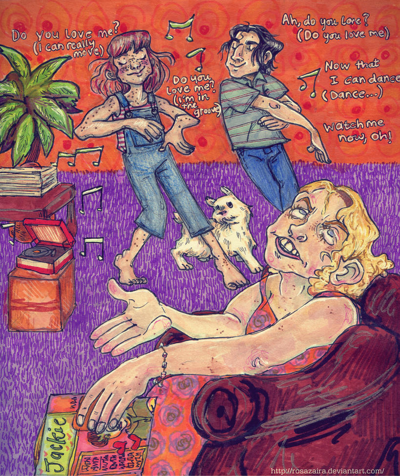 Ah, shake 'em, shake 'em down by RosaZaira