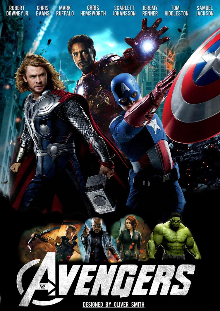 The Avengers Poster by CreativeOrange on DeviantArt