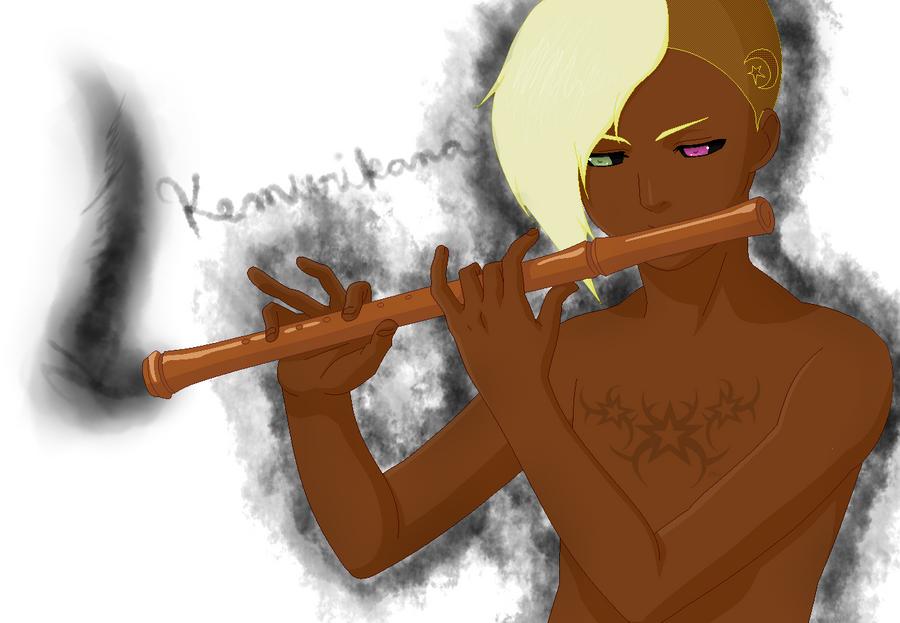 New Oc- Kemurikana by ILoveThePanda
