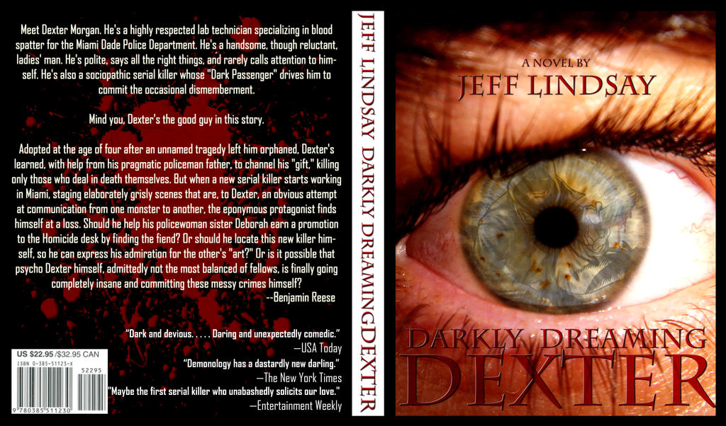 darkly dreaming dexter book report Darkly dreaming dexter is a 2004 novel by jeff lindsay , the first in his series about serial killer dexter morgan  it formed the basis of the showtime television series dexter and won the 2005 dilys award and the 2007 book to tv award.