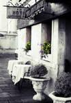Venice restaurant flowers