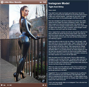 Instagram Model: Tight and Shiny