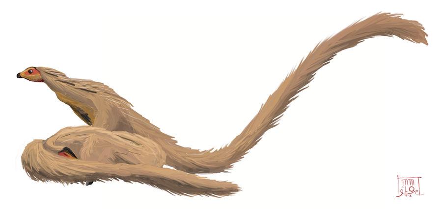 Leaellynasaura's Long Tail