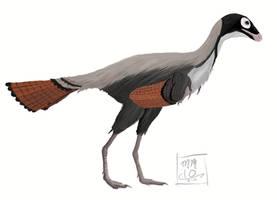 Caudipteryx sp. by MattMart