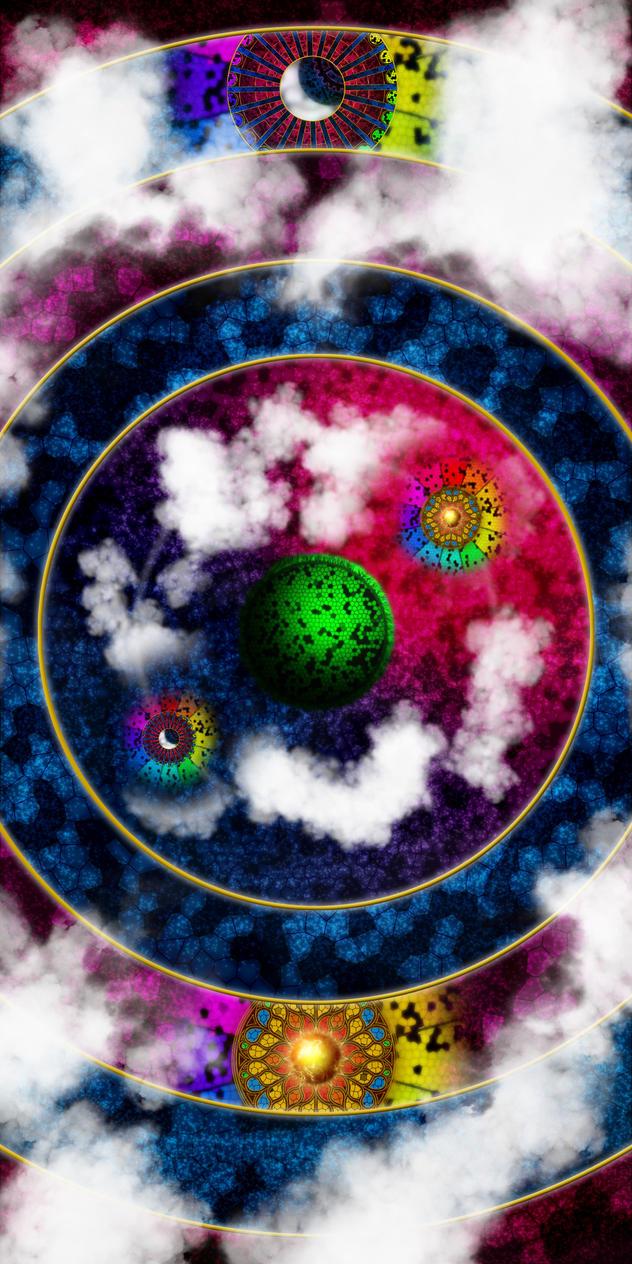 Celestial Orbs by SudYugi