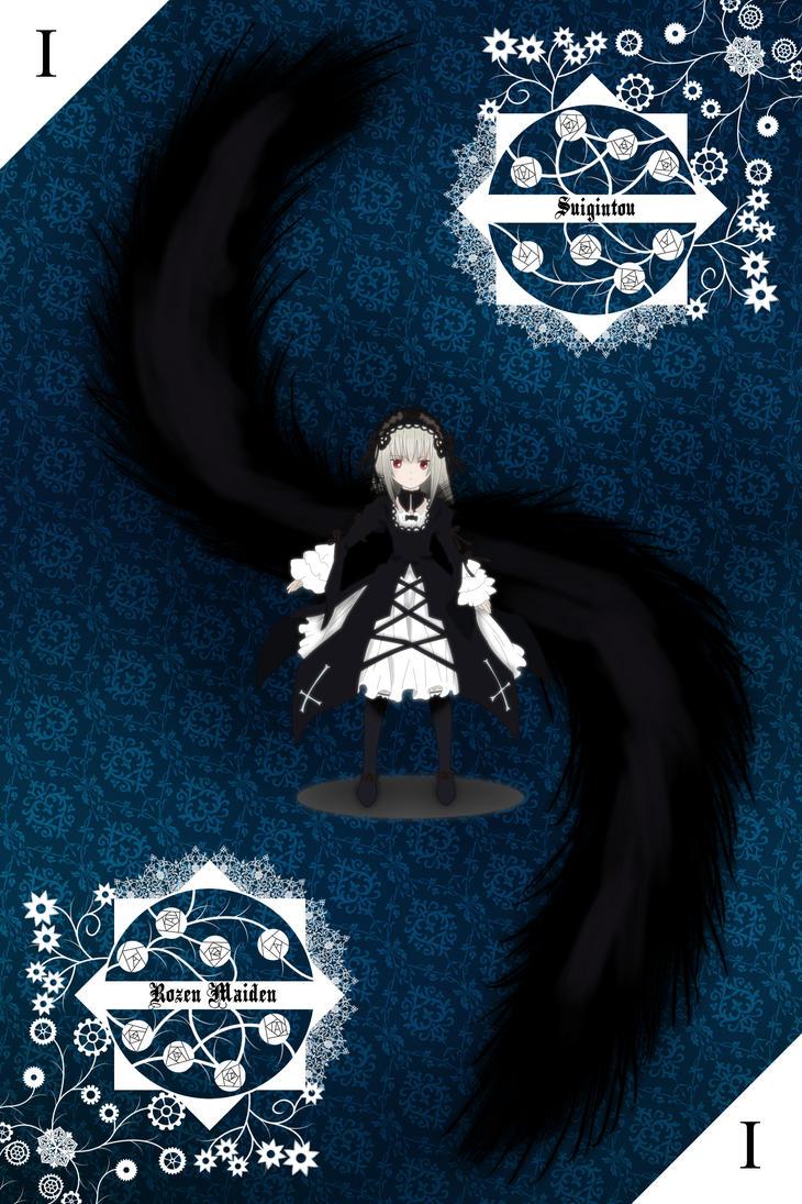 Rozen Maiden Fanart - Suigintou by SudYugi