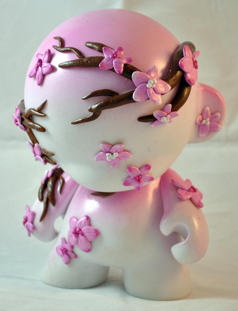Cherry Blossom Munny by HeyKannaya