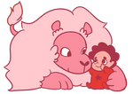 Lion and Baby Steven
