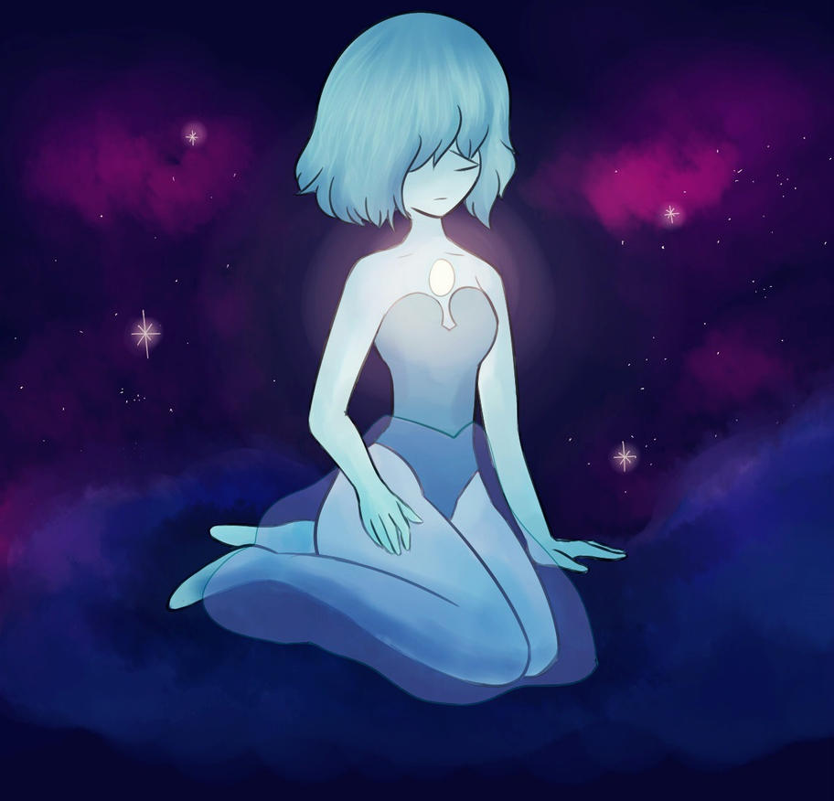 Pearl from blue Diamond by PandyCookiez