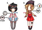 [OPEN] Pixel Adopts(2) Auction by spectrum-chan
