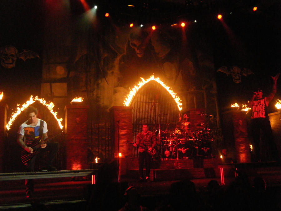 Avenged Sevenfold Stage Fire By ShikariKnot