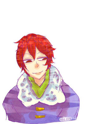 RedHairBoy Colored