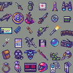 Pixel Icons available for use