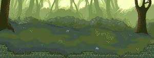 Battle background: Forest