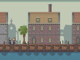 Port town Pixel