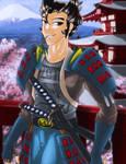 A Samurai's Day Off