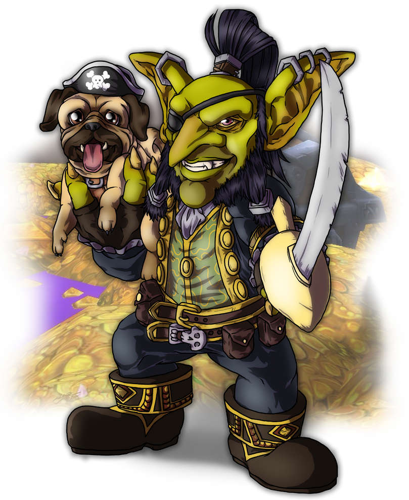 Sulley Swindlegear - Outlaw Rogue Extraordinaire by MagickDream