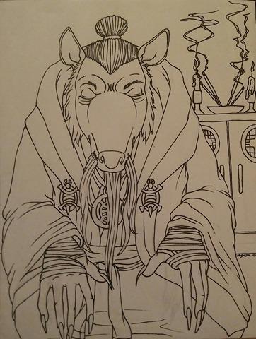 Inktober - Day 20 - DEEP by MagickDream
