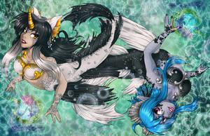 Mer-May Mascots