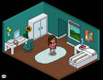 Mini Habbo Bedroom