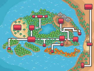 Celestia map by GlossyGem
