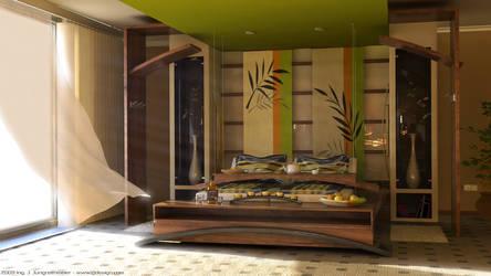 bedroom daylight