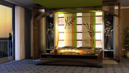 bedroom twilight-version