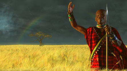 Massai scene