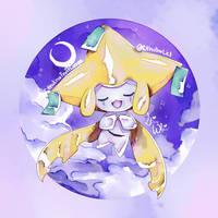:C: Watercolor Jirachi by CthulhuLel