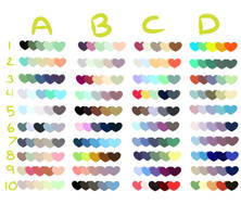 Free to Use Color Swatches by xTricksterPrincex