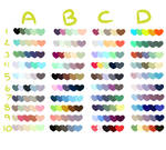 Free to Use Color Swatches