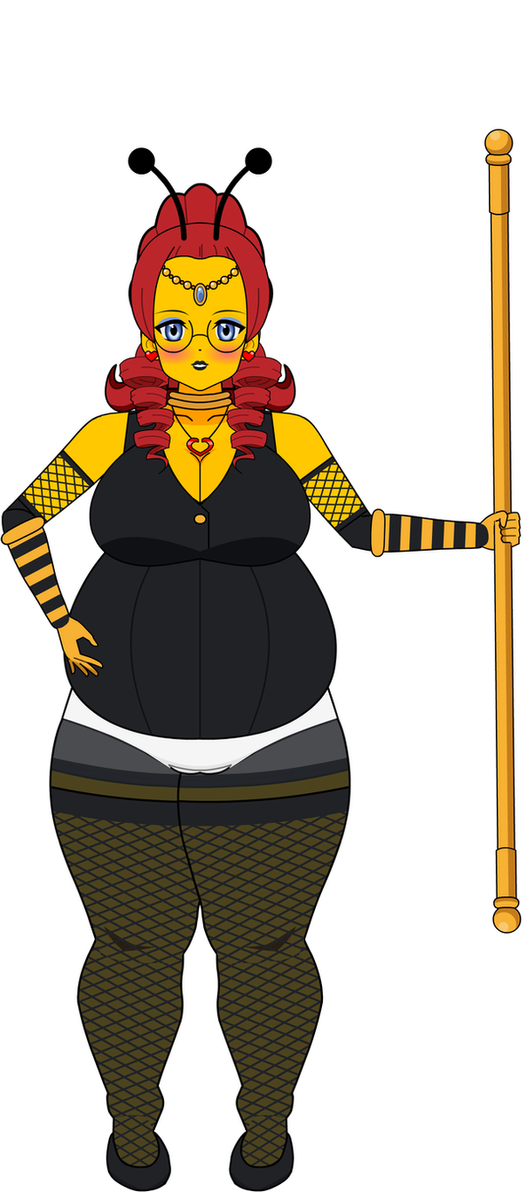 Sexy Pregnant Queen Honeybee Wedding Tami Mama by LovestrongArtFan90