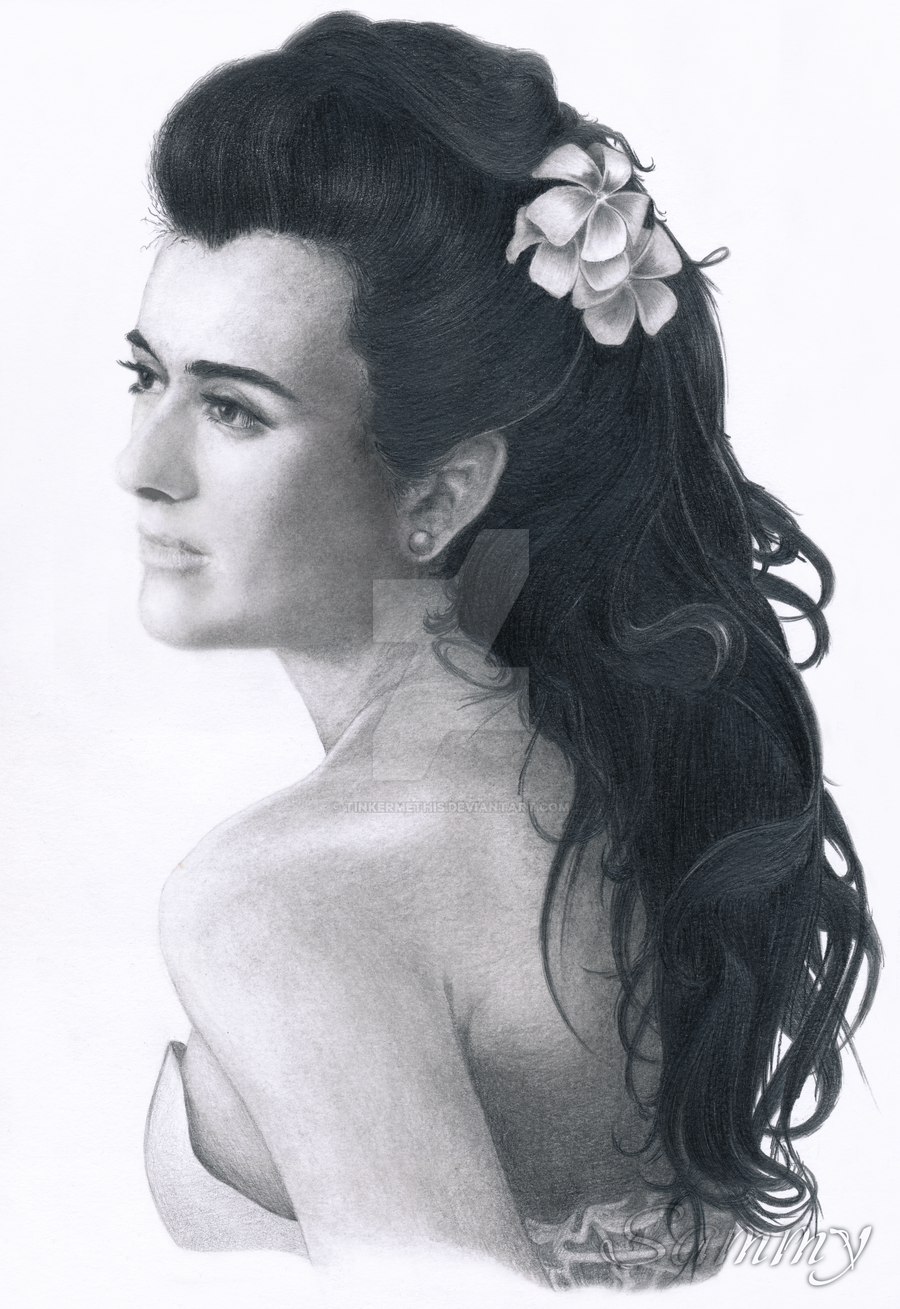 Ziva, on the morning of her wedding by TinkerMeThis