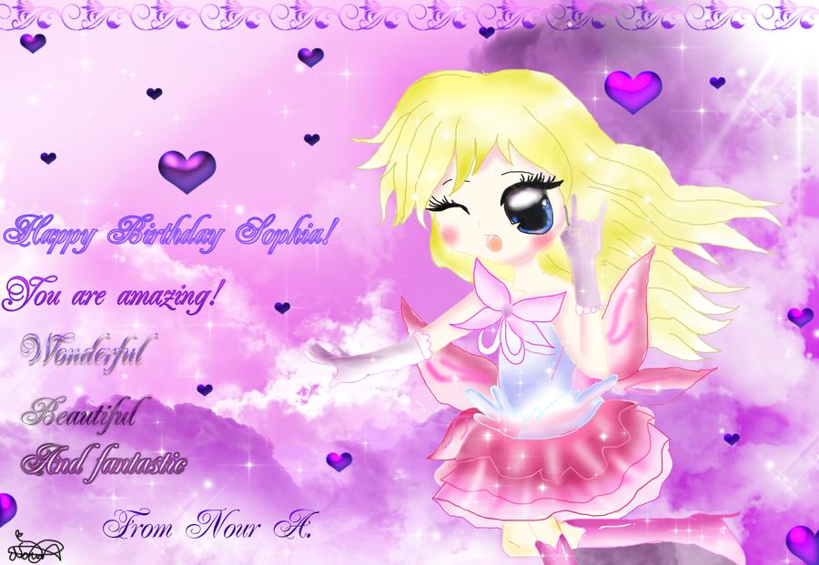 Happy Birthday Fia by XDemiseEmoGirlX