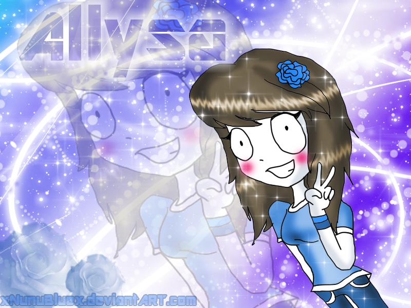 Allysa TUW XD by XDemiseEmoGirlX