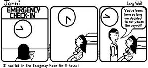 Jenni Comic 1: Long Wait