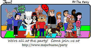 Jenni Comic 41: At the Party