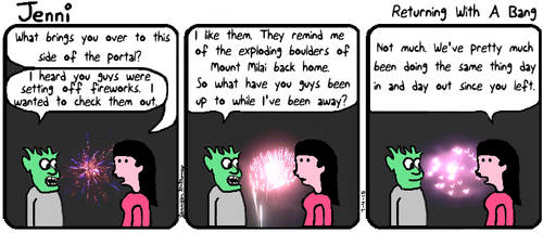 Jenni Comic 43: Returning With A Bang