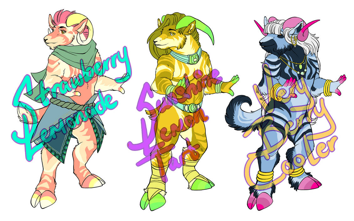 Goat Adoptables (3/3 OPEN)