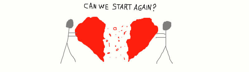 Can We Start Again? by MilliardPeacecraft