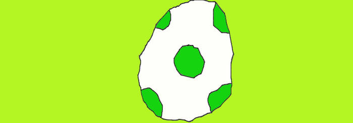 Yoshi Egg by MilliardPeacecraft