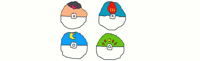 Pokeballs Generation 2 Part 1 by MilliardPeacecraft