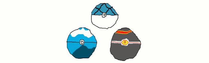 Pokeballs Generation 3 Part 2 by MilliardPeacecraft