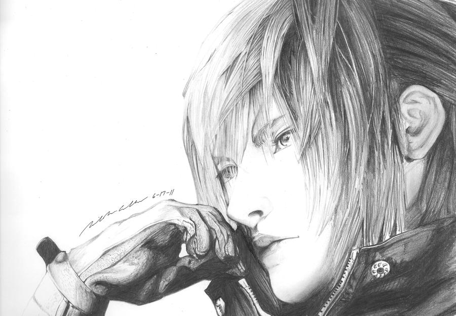 Noctis Lucis Caelum Sketch by ska112