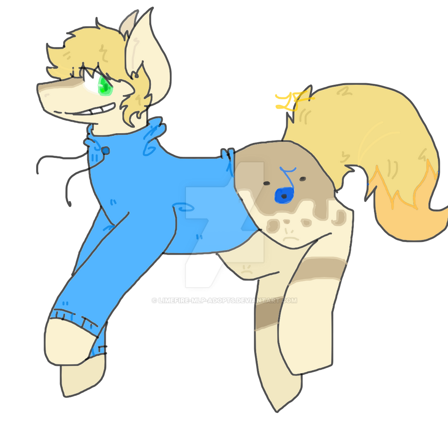 Pony adopt by LimeFire-MLP-Adopts