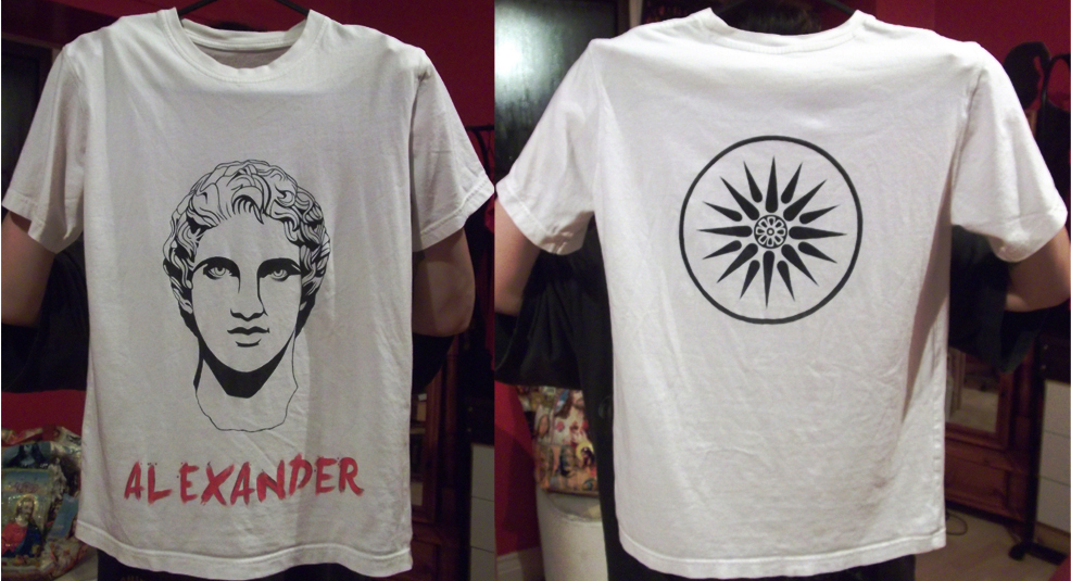 Alexander the great t shirt by chochimaru sama on deviantart The great t shirt