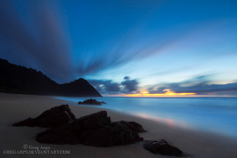 Scott's Beach Twilight by ~GregArps