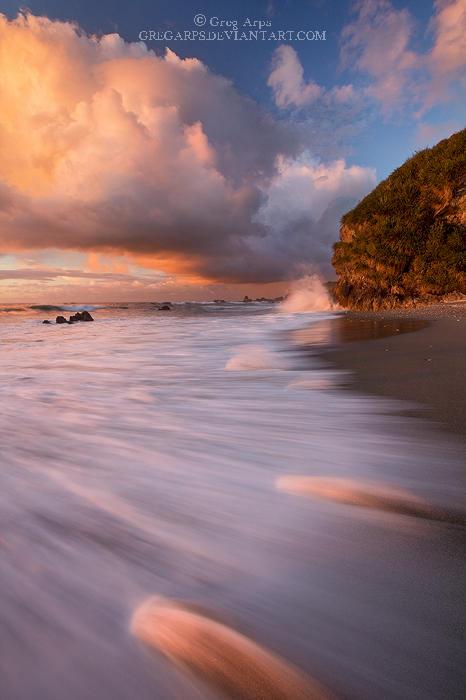 Woodpecker Bay, sunset by GregArps