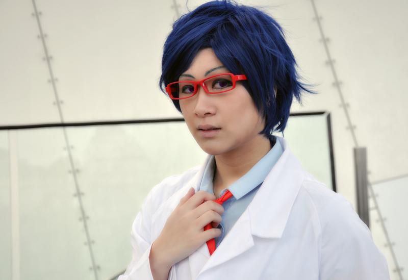 Free! Ending 2: Scientist Rei by 2greenia